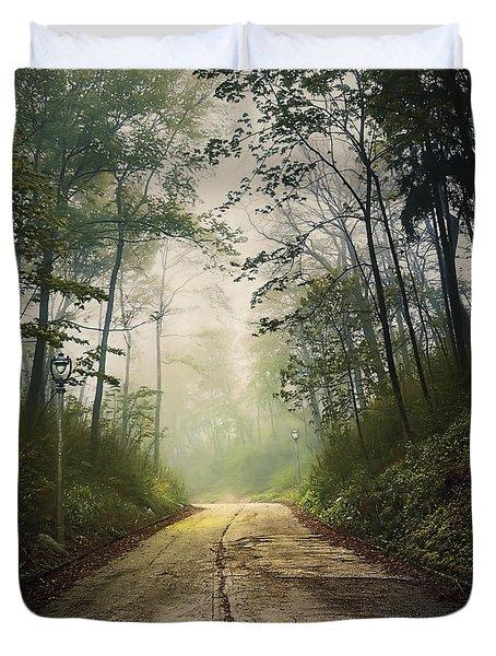 Forsaken Road Duvet Cover