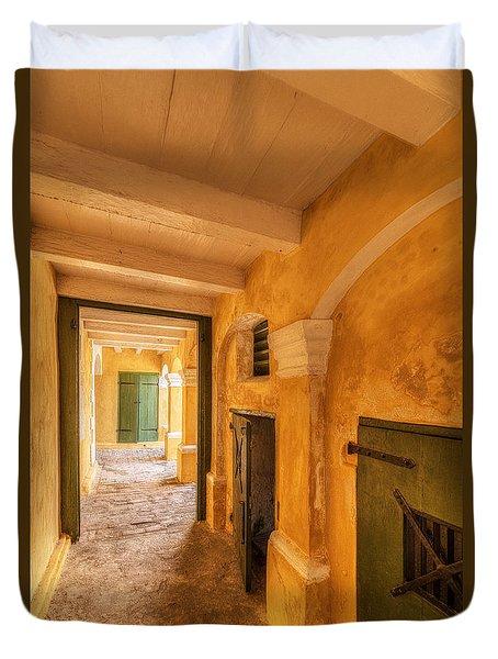 Fort Christianson Duvet Cover