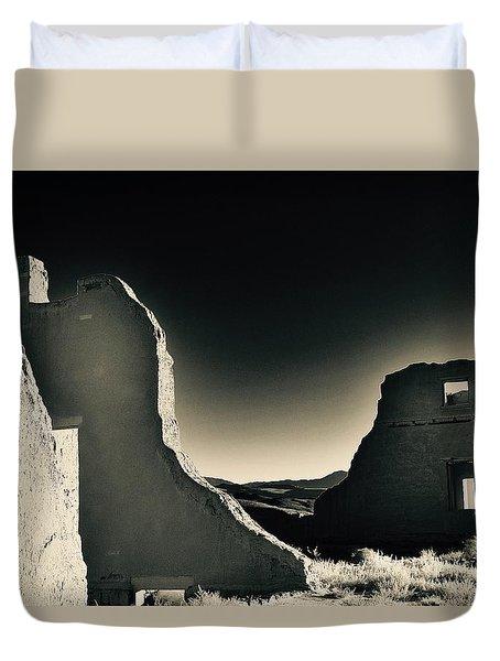 Fort Churchill State Historic Park Duvet Cover