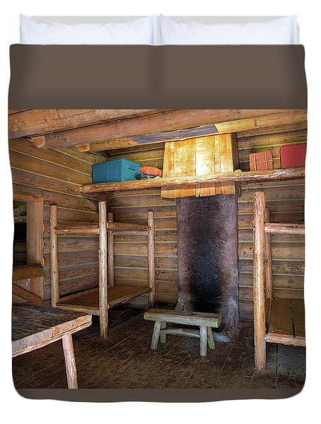 Fort Clatsop Living Quarters Duvet Cover