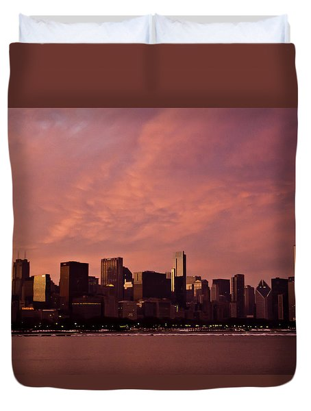 Fort Dearborn Duvet Cover