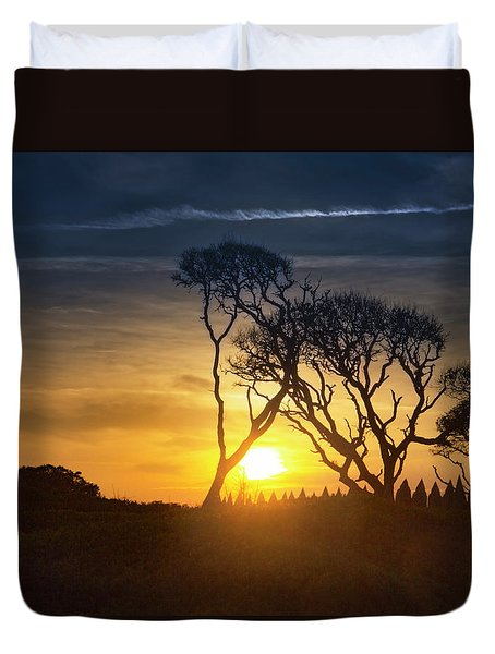 Fort Fisher Sky Watch Duvet Cover
