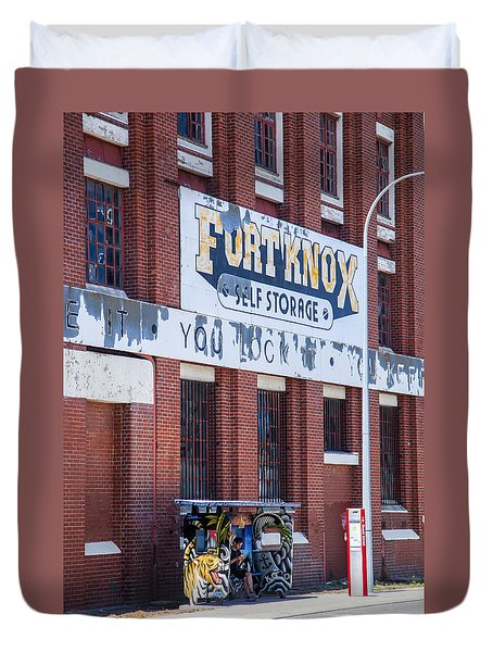 Fort Knox Duvet Cover