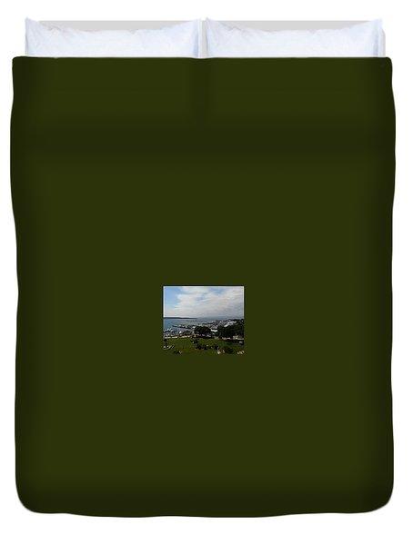 Fort Mackinac Duvet Cover
