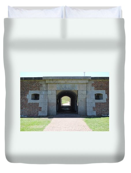 Fort Moultrie Duvet Cover