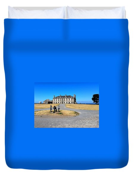 Fort Niagara  Duvet Cover