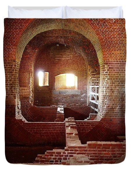 Fort Pulaski I Duvet Cover