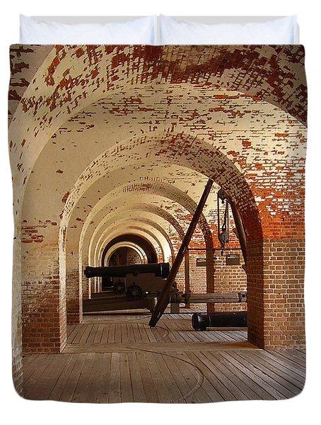 Fort Pulaski II Duvet Cover