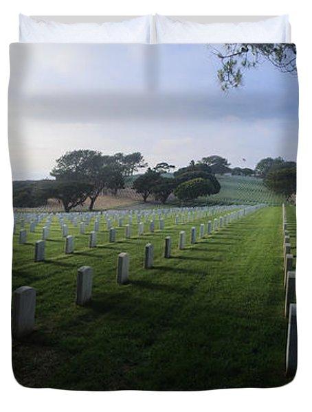 Fort Rosecrans National Cemetery Duvet Cover