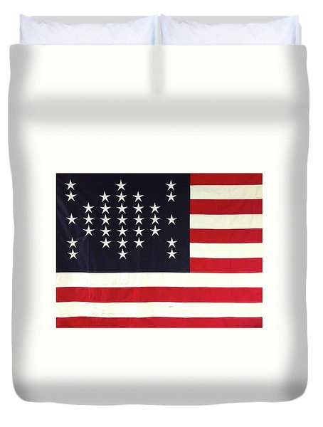 Fort Sumter Flag Duvet Cover