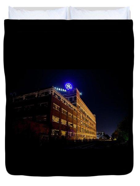Fort Wayne In Ge Building - Jpmmedia.com Duvet Cover