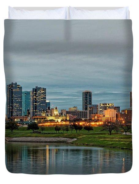 Fort Worth Color Duvet Cover