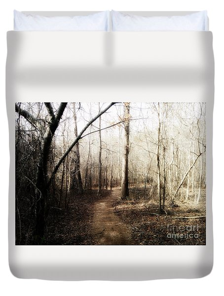 Duvet Cover featuring the photograph Fort Yargo Trail by Utopia Concepts