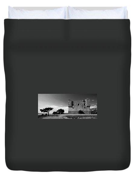 Duvet Cover featuring the photograph Fortress Nehaj In Senj by Davor Zerjav