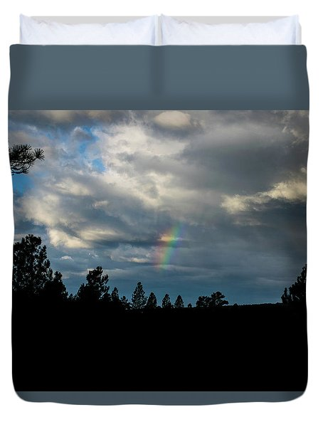 Fortunate Glimpses Duvet Cover