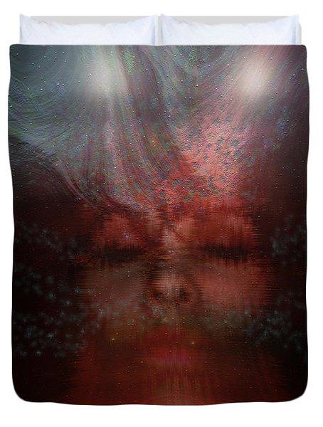 Fortune Teller Duvet Cover by Linda Sannuti