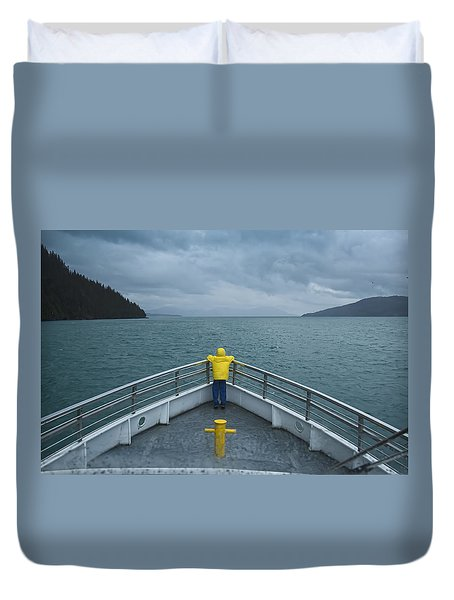 Forward Lookout Duvet Cover