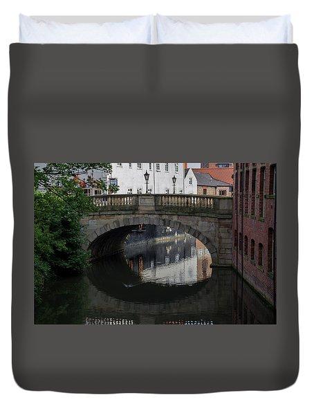 Foss Bridge - York Duvet Cover