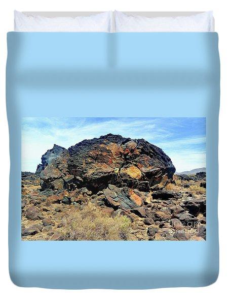 Fossil Falls Duvet Cover