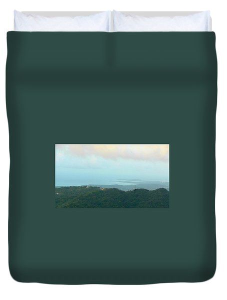 Foto Desde El Yunque Rain Forest Duvet Cover