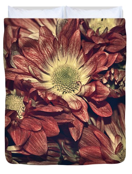 Foulee De Petales - 04b Duvet Cover by Variance Collections