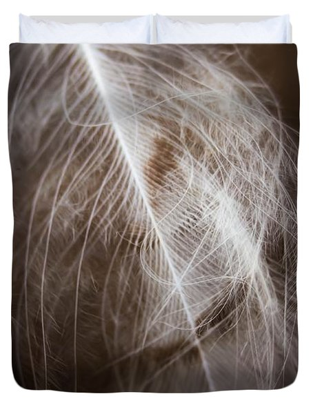 Found Feather Duvet Cover