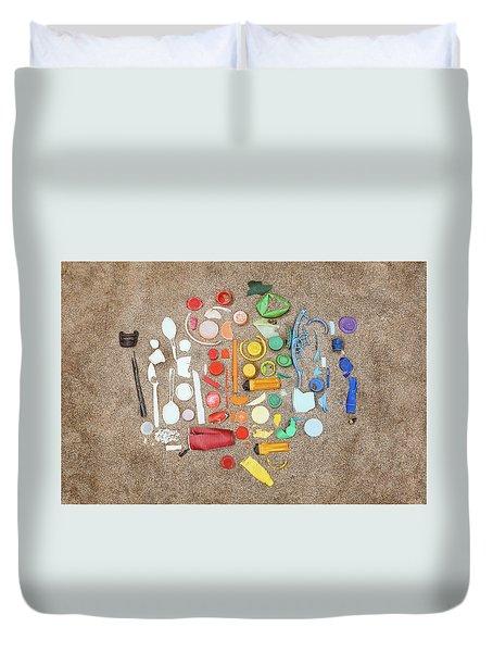 Found Items Rainbow Duvet Cover