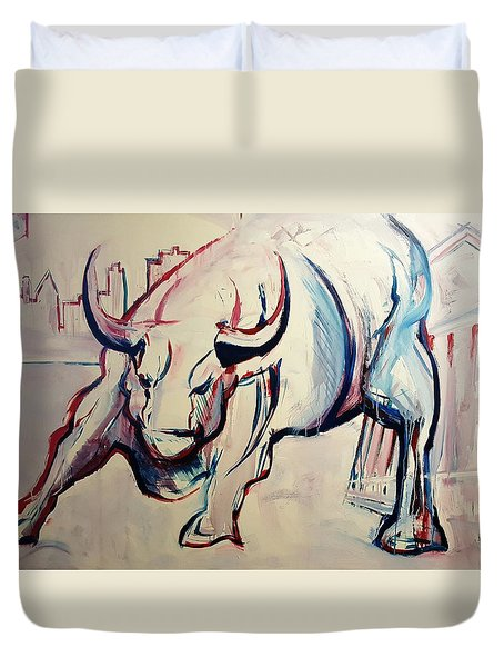 Foundation Of Finance Duvet Cover