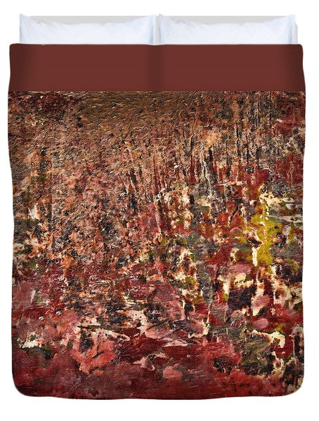 Duvet Cover featuring the photograph Foundling by John Hansen