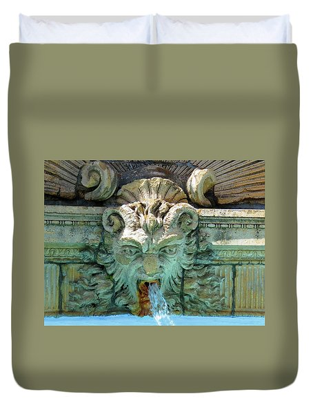 The Fountain Duvet Cover