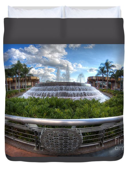 Fountain Of Nations Duvet Cover