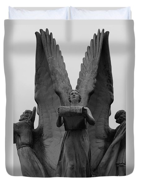 Four Angels Duvet Cover