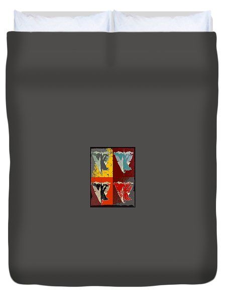 Four Duvet Cover