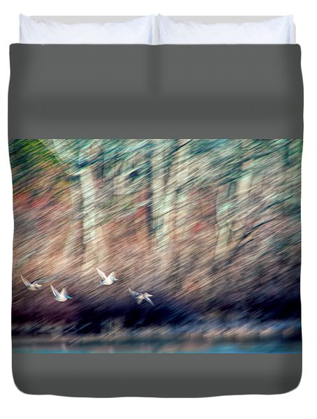The Takeoff Duvet Cover