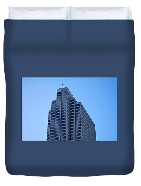 Four Embarcadero Center Office Building - San Francisco Duvet Cover