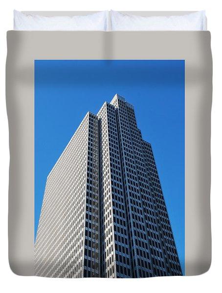 Four Embarcadero Center Office Building - San Francisco - Vertical View Duvet Cover