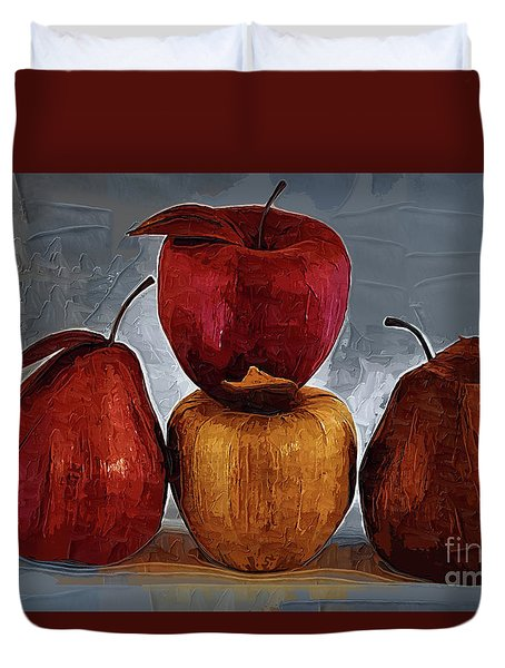 Four Fruits Duvet Cover