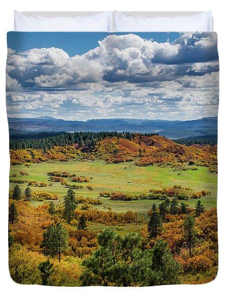 Four Mile Road Peak Color Duvet Cover