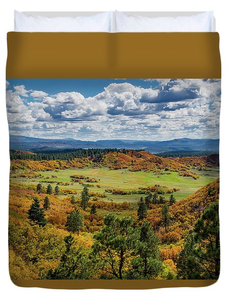 Four Mile Road Peak Color Duvet Cover