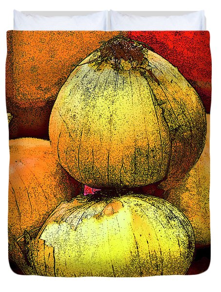 Four Onions  Duvet Cover