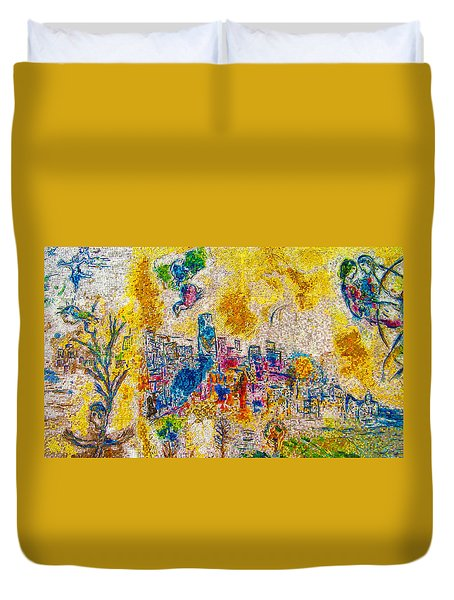 Four Seasons Chagall Duvet Cover
