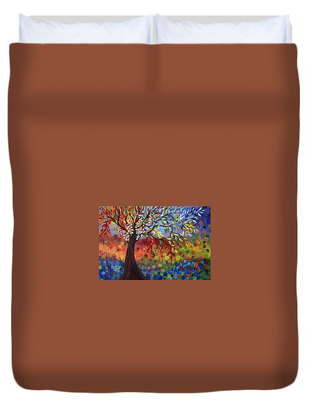 Four Seasons Duvet Cover by Luiza Vizoli