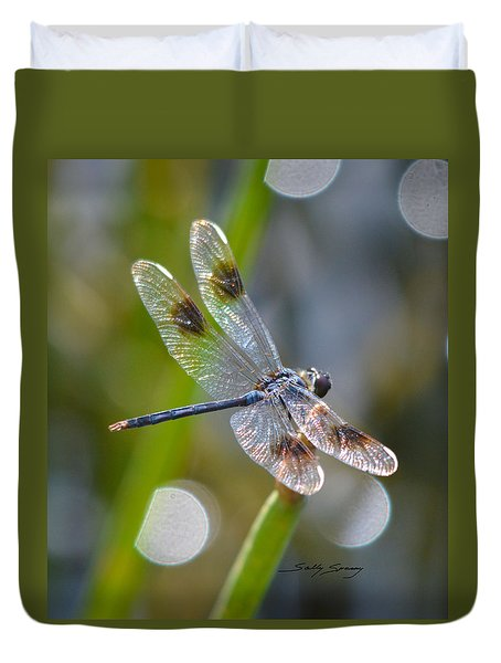 Four Spotted Pennant Duvet Cover
