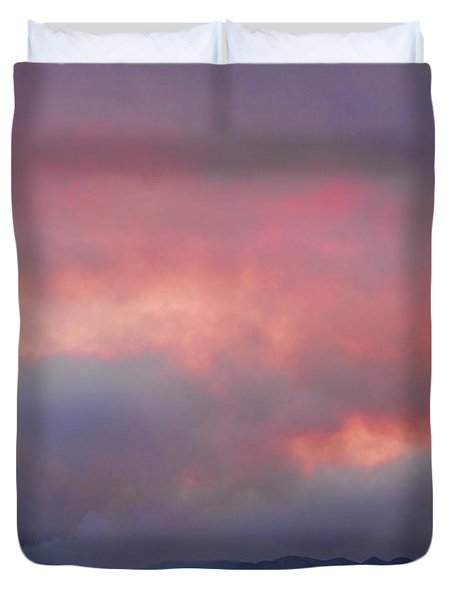 Fourmile Canyon Fire Image 90 Duvet Cover by James BO  Insogna
