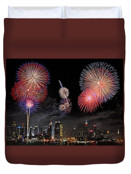 Fourth Of July Duvet Cover