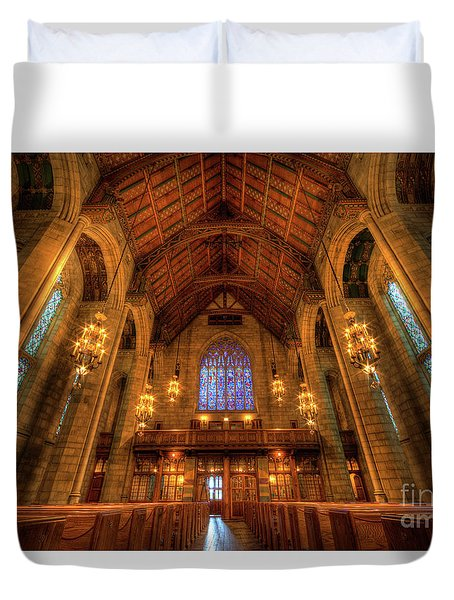 Fourth Presbyterian Church Chicago IIi Duvet Cover