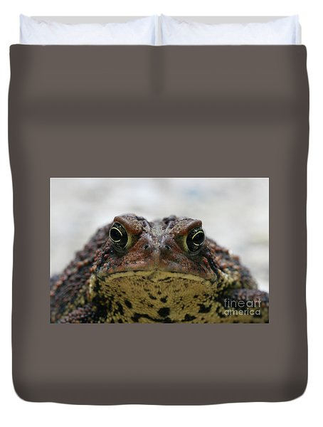Fowler's Toad #3 Duvet Cover