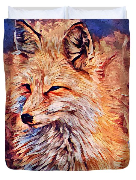 Fox 2 Duvet Cover