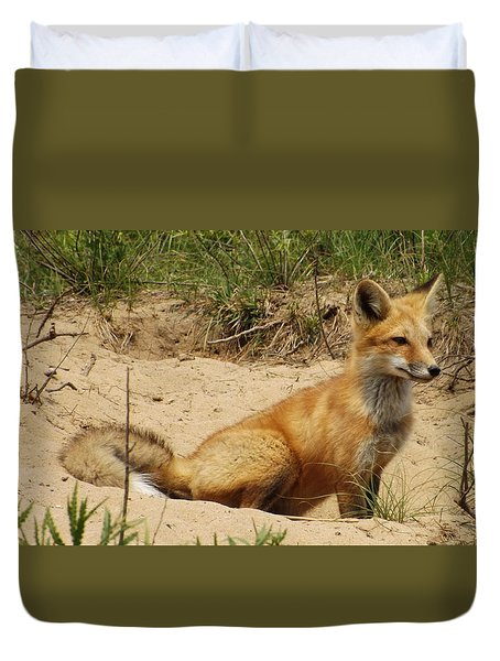 Fox In The Woods 2 Duvet Cover