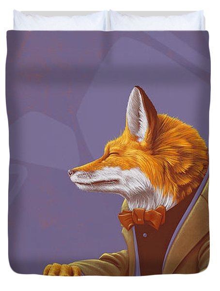 Fox Duvet Cover